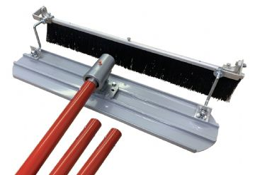 Concrete Broom & Mag Float Kit 3ft & 4ft Options
